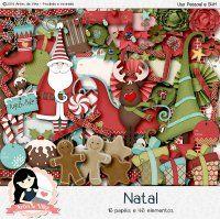 Kit Digital Natal by Vika Matos