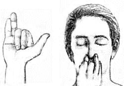El ejercicio de respiración fosa nasal alterna, mejora la función cerebral aportando la misma cantidad de oxígeno a ambos lados del cerebro.