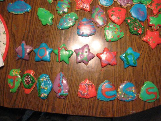 Gaudy Amazing Name Cookies