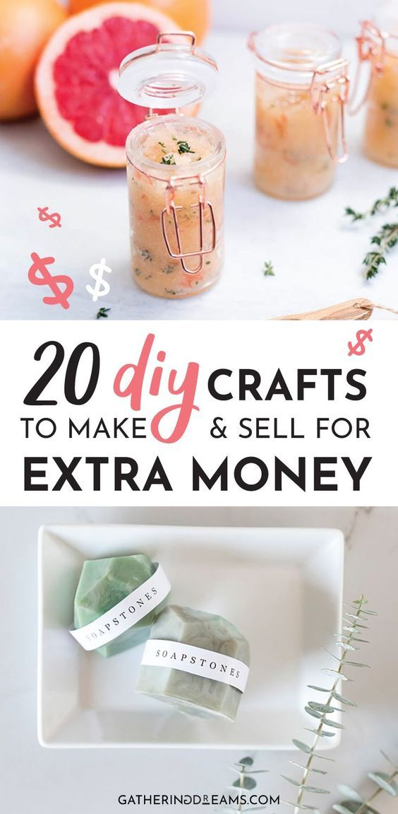 20 Easy Things To Make And Sell Online For Extra Cash Sell Diy