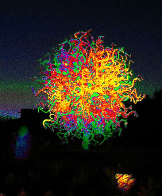 Chihuly light storm...I feel better already