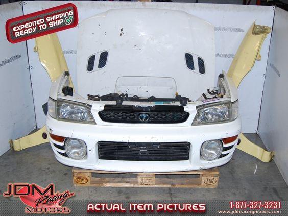 JDM Subaru Impreza ver 4 GC8 Nose cut conversion. eBay