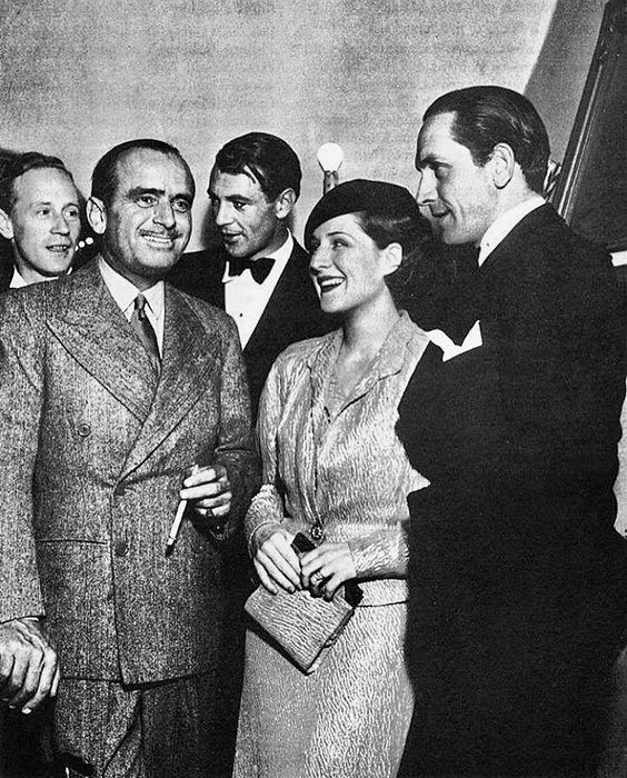 Leslie Howard, Douglas Fairbanks, Gary Cooper, Norma Shearer & Fredric March âï¸
