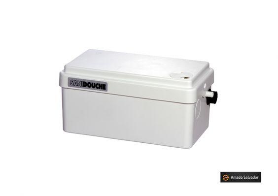 Sanishower es una bomba de evacuación para las aguas residuales procedentes de una ducha, lavabo y/o de un bidé.Es para uso doméstico Compacto, se puede esconder fácilmente Permite crear un pequeño cuarto de ducha en una habitación.