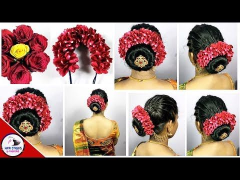 South Indian Wedding Guest Hairstyles Kerala Hairstyle With Flowers Hairstyles And Fas Wedding Guest Hairstyles Indian Wedding Hairstyles Hairstyles Kerala