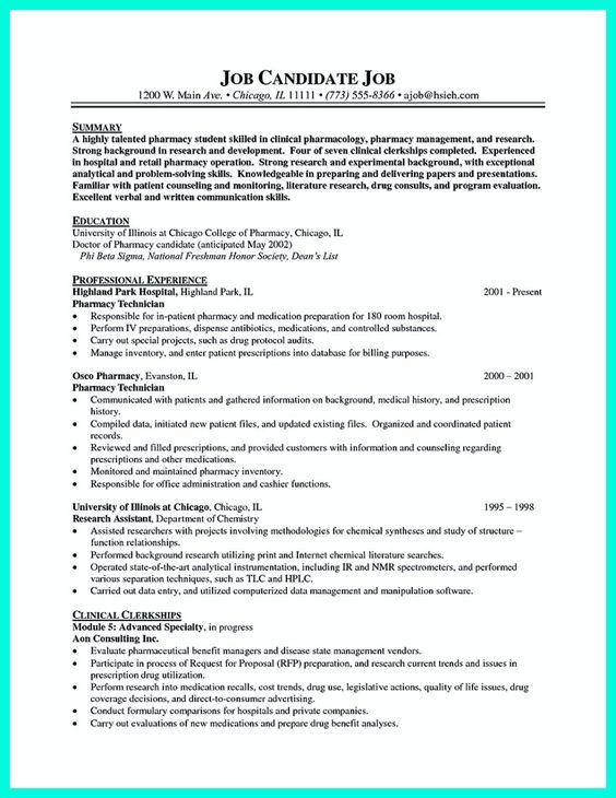 cool How to Make Cable Technician Resume That Is Really Perfect - resume pharmacy technician