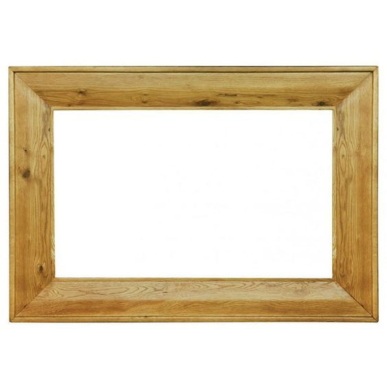 Provence Solid Oak Large Rectangular Mirror -  - Mirror - Ametis - Space & Shape - 2