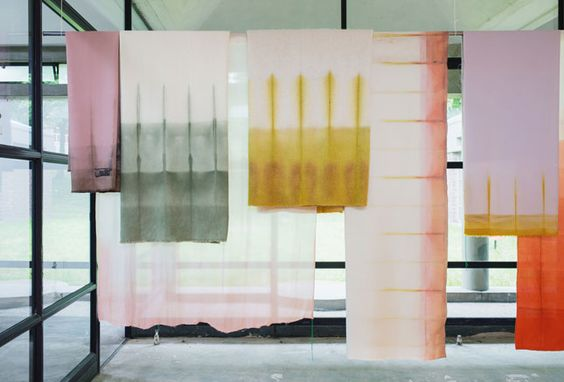 Meyers & Fügmann #fuorisalone #DWM16 #fabric #colour #shades #design #textile #from Luxembourg
