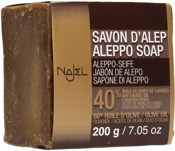 Najel Aleppo-Seife 40% Lbö.