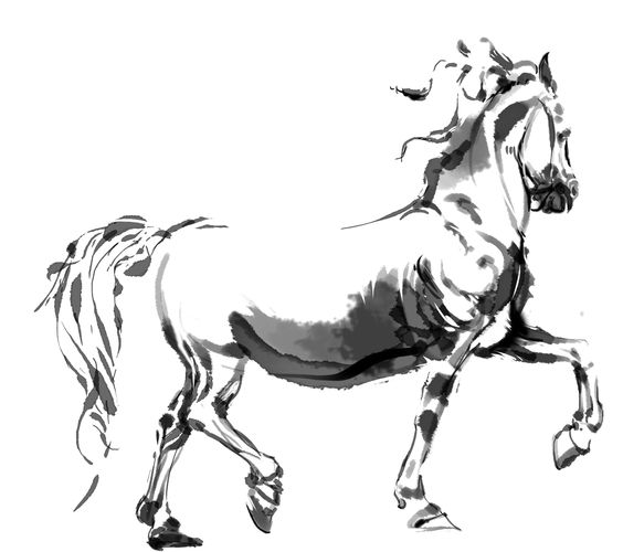 Digital illustration using Photoshop CS5.