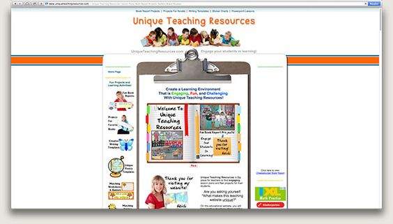 Unique Teaching Resources: This website is full of teaching ideas and materials. If you teach young English learners, you will find plenty of resources that you can adapt and use in class. Each month, new ideas and materials are featured. You'll find group projects, writing topics, and ideas for classroom displays. Some materials are free and other materials …