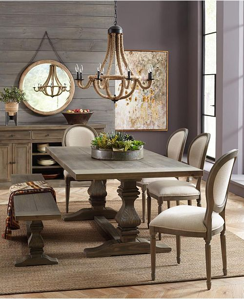 Furniture Tristan Dining Chair Set 4 Side Chairs Created For Macy S Reviews Furniture Macy S In 2020 Dining Room Small Dining Room Table Decor Farmhouse Dining Rooms Decor