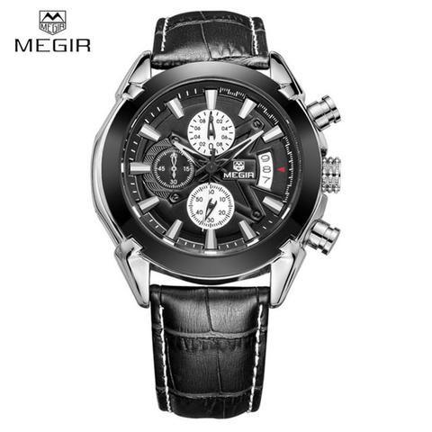 Genuine Leather Megir Watch - Casual Luxury! 50% OFF!