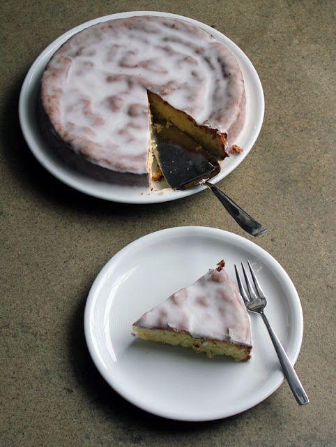 Macadamia-Kuchen mit Kokos und Zitrone