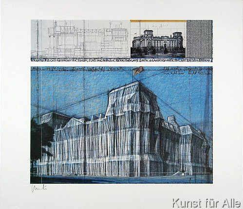 Christo und Jeanne-Claude - Reichstag IV