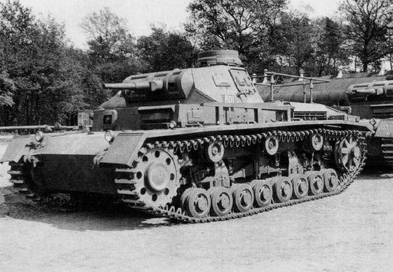 commandant Panzerbefehlswagen III Ausf. D1