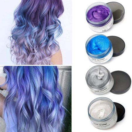 Beauty Temporary Hair Color Hair Wax Hair Color Blue