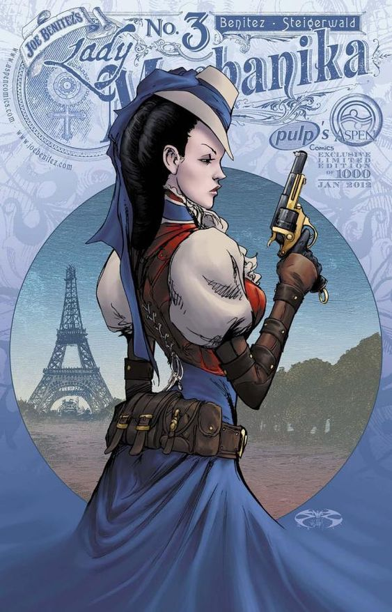 Lady Mechanika Comic by Joe Benitez | Cuded
