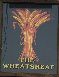 Wheatsheaf - Burley Road, Langham, Rutland, UK. - Pictorial Pub Signs on Waymarking.com