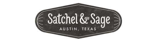 Satchel & Sage | Printed goods and textiles, hand-crafted by a wife and husband team in Austin, Texas.