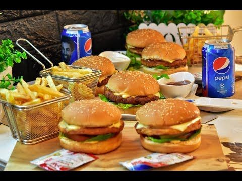 برجر دجاج بطريقه احترافيه وطعم مميز رح تعجبكم كتير Youtube Savory Appetizer Recipes Food