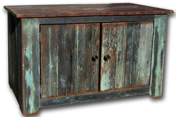 Old barn wood media cabinet and barns on pinterest