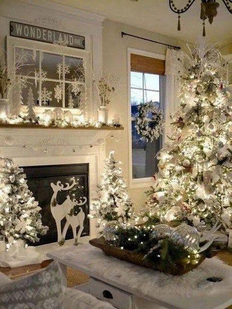 144 Inspiring Christmas Decoration Ideas For Holiday Event 31 Decoracao De Natal Para Fazenda 242 Casa Natal