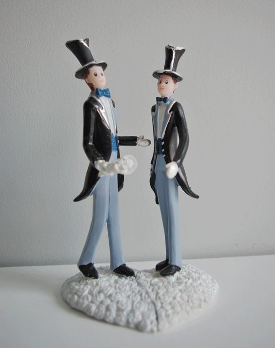 figurine gteau pour mariage gay en vente sur httpwww - Figurine Mariage Gay