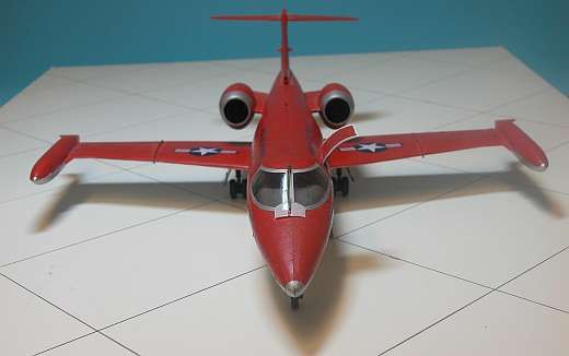 Learjet Flugzeug Jet Modell