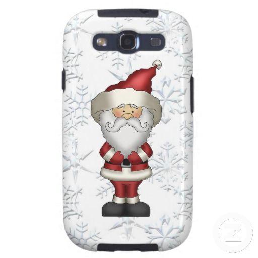 Christmas Santa Samsung Galaxys3 Vibe case Samsung Galaxy S3 Covers