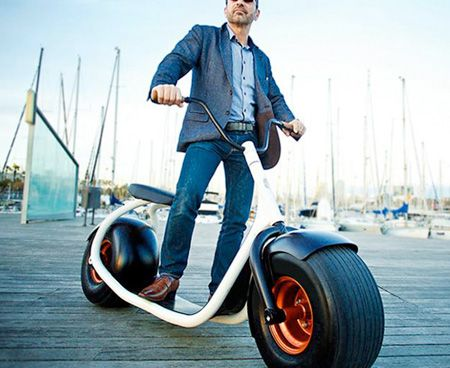 Scooters Stand Up And Electric Scooter On Pinterest