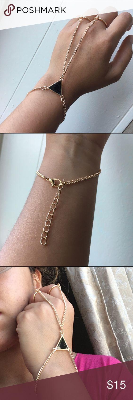 🦄Bracelet ring No brand. Never used. Still in packaging. Asos Jewelry Bracelets