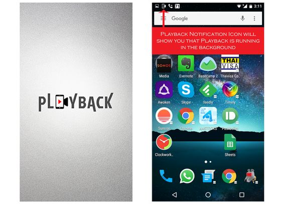 Free Screen Recorder Download Playback Screen Recorder is the best free screen recording app for Android. Record anything that comes across your phone screen in digital sound or without sound. http://www.playbackscreenrecorder.com/
