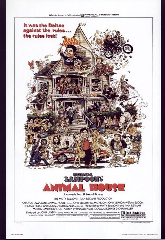 National Lampoon Animal House 1978  Movie Posters -3178