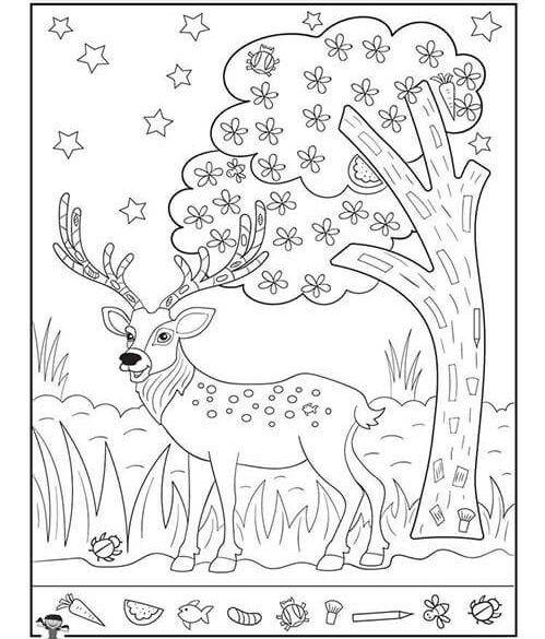 تمارين قوة الملاحظة بالصور مطبوعات تنمية قوة الملاحظة للأطفال بالعربي نتعلم Hidden Pictures Printables Hidden Pictures Drawing Activities