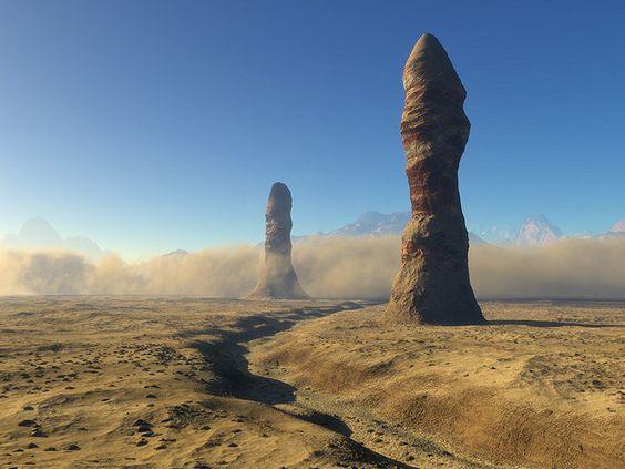 landscape alien planet | Flickr: The ALIEN PLANET LANDSCAPES Pool ...