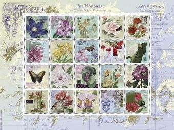 Nostalgie-Briefmarken (Puzzle)