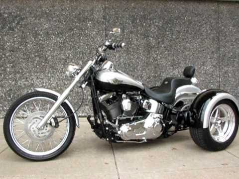 100th Annivaesary Deuce Softail Trike For Sale In Texas Softail Trike Trike Motorcycle