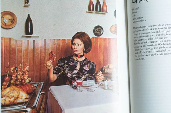 In cucina con amore Sophia Loren | cookbook | Pinterest | Sophia ...