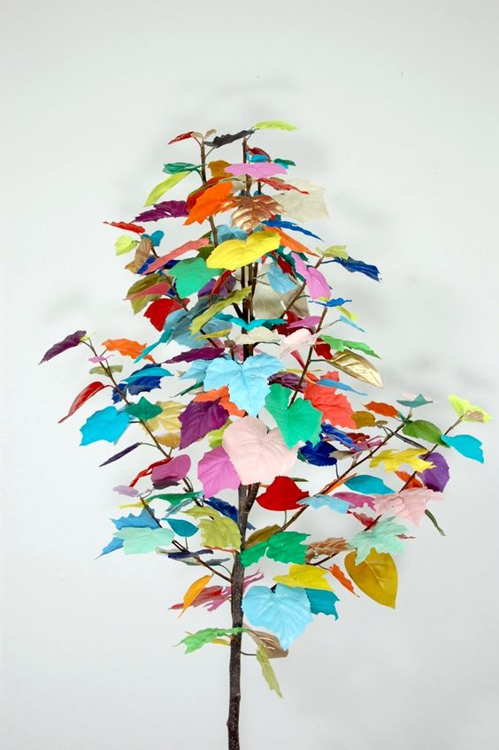 This would be amazing on a fake tree in my classroom, I think I will steal one from the teachers lounge.