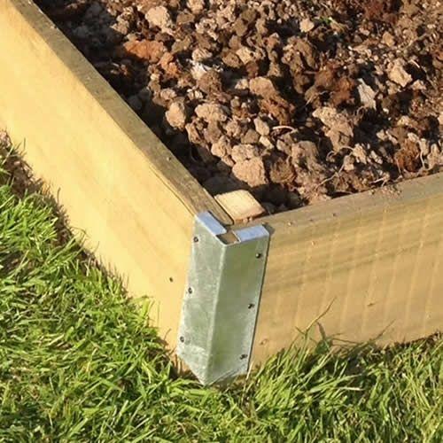 Corner Bracket Kit By Scaffoldingdirect Building Raised Garden Beds Raised Garden Bed Kits Garden Bed Kits