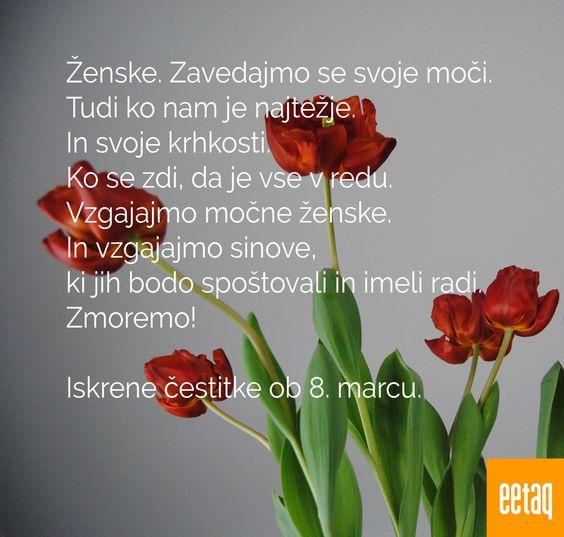 Pozitivne misli: 8. marec, dan žena