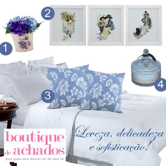 Lindos objetos decorativos para um Lar Doce Lar da nossa loja virtual: www.boutiquedeachados.com.br