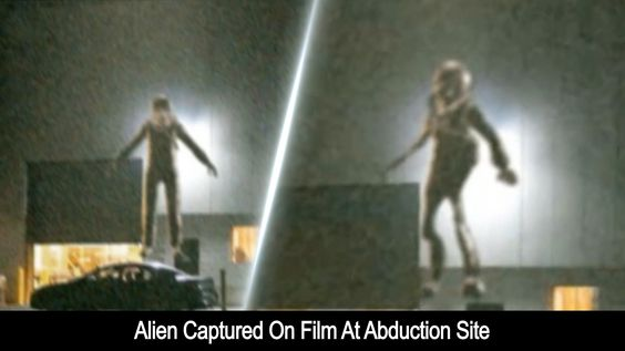 Alien Captured On Film At Abduction Site 9-8-2016