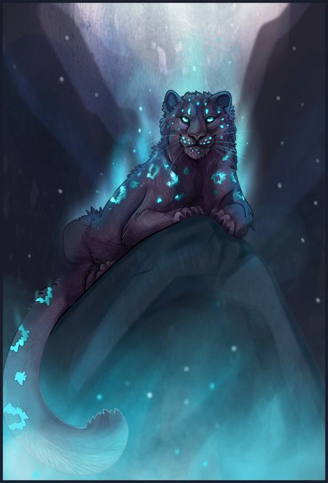 Cold Fire by c3rmen.deviantart.com on @deviantART - a leopard version: