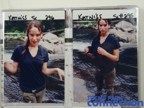Some rare - idk if there rare or not lol but here some pictures of bts in the hunger games of Jennifer Lawrence ❤️