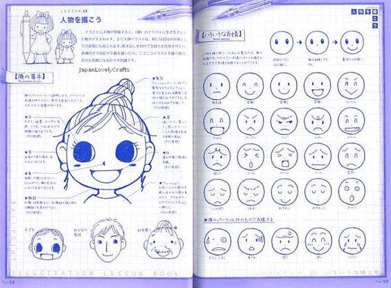 Ball Point Pen Illustration Lesson Japanese door JapanLovelyCrafts
