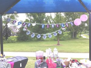 Monster High Party Birthday and name banner