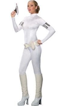 simplicity - don't go for the obvious Star wars Costume...think outside the Empire's Box.