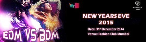 New Years Eve 2015 EDM vs BDM in Mumbai on December 31, 2014